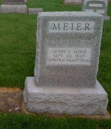 MEIER, HENRY F - Stephenson County, Illinois | HENRY F MEIER - Illinois Gravestone Photos