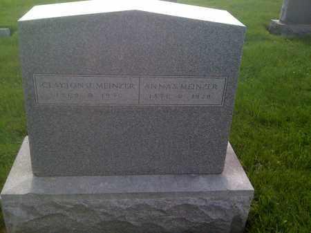 MEINZER, CLAYTON J - Stephenson County, Illinois | CLAYTON J MEINZER - Illinois Gravestone Photos