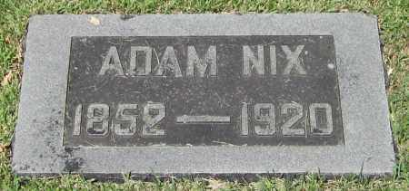 NIX, ADAM - Stephenson County, Illinois | ADAM NIX - Illinois Gravestone Photos