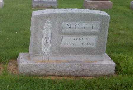 NOTT, DAVID H - Stephenson County, Illinois | DAVID H NOTT - Illinois Gravestone Photos