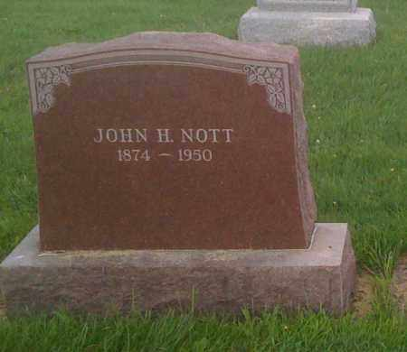 NOTT, JOHN - Stephenson County, Illinois | JOHN NOTT - Illinois Gravestone Photos
