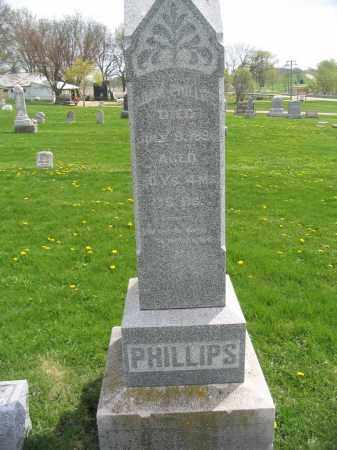 PHILLIPS, ADAM - Stephenson County, Illinois   ADAM PHILLIPS - Illinois Gravestone Photos
