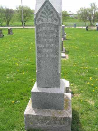 PHILLIPS, ANDREW A. - Stephenson County, Illinois | ANDREW A. PHILLIPS - Illinois Gravestone Photos