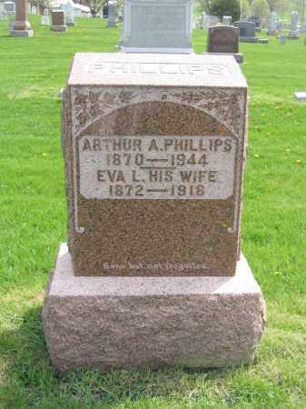 PHILLIPS, EVA L. - Stephenson County, Illinois | EVA L. PHILLIPS - Illinois Gravestone Photos