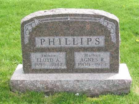 PHILLIPS, LLOYD A. - Stephenson County, Illinois | LLOYD A. PHILLIPS - Illinois Gravestone Photos
