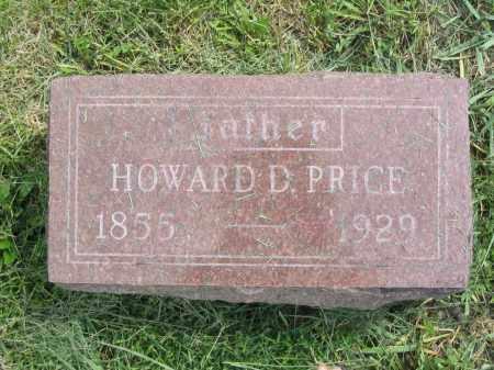 PRICE, HOWARD D. - Stephenson County, Illinois | HOWARD D. PRICE - Illinois Gravestone Photos