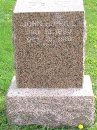PRICE, JOHN H. - Stephenson County, Illinois | JOHN H. PRICE - Illinois Gravestone Photos