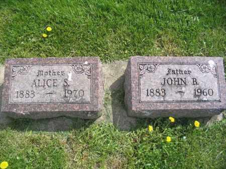 ROYER, ALICE S. - Stephenson County, Illinois | ALICE S. ROYER - Illinois Gravestone Photos