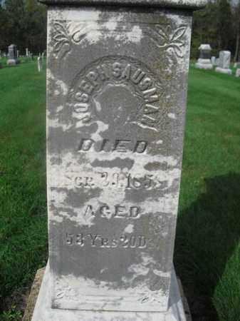 SAUSMAN, JOSEPH WENGER - Stephenson County, Illinois | JOSEPH WENGER SAUSMAN - Illinois Gravestone Photos