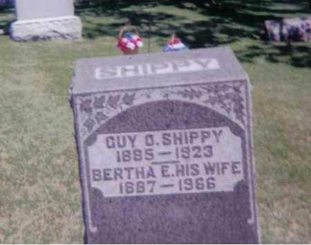 LEVERTON SHIPPY, BERTHA  E - Stephenson County, Illinois | BERTHA  E LEVERTON SHIPPY - Illinois Gravestone Photos