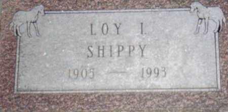 SHIPPY, LOY - Stephenson County, Illinois | LOY SHIPPY - Illinois Gravestone Photos