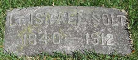 SOLT, ISRAEL (LT.) - Stephenson County, Illinois | ISRAEL (LT.) SOLT - Illinois Gravestone Photos