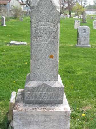 STABENOW, AMANDA S. - Stephenson County, Illinois | AMANDA S. STABENOW - Illinois Gravestone Photos