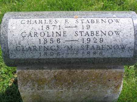 STABENOW, CHARLES F. - Stephenson County, Illinois | CHARLES F. STABENOW - Illinois Gravestone Photos