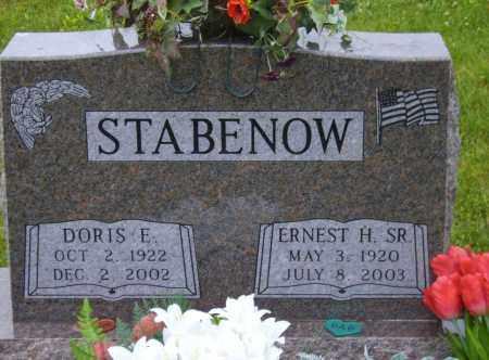STABENOW, ERNEST H - Stephenson County, Illinois | ERNEST H STABENOW - Illinois Gravestone Photos