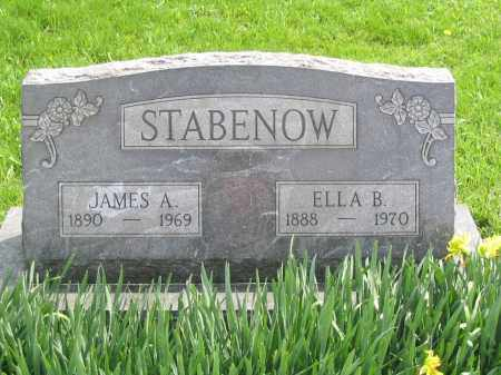 STABENOW, JAMES A. - Stephenson County, Illinois | JAMES A. STABENOW - Illinois Gravestone Photos