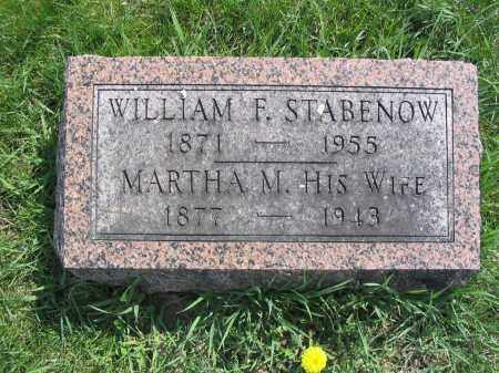 STABENOW, MARTHA M. - Stephenson County, Illinois | MARTHA M. STABENOW - Illinois Gravestone Photos