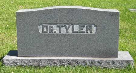 TYLER, DR. - Stephenson County, Illinois | DR. TYLER - Illinois Gravestone Photos