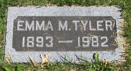 TYLER, EMMA M. - Stephenson County, Illinois | EMMA M. TYLER - Illinois Gravestone Photos