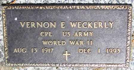 WECKERLY, VERNON E. - Stephenson County, Illinois | VERNON E. WECKERLY - Illinois Gravestone Photos