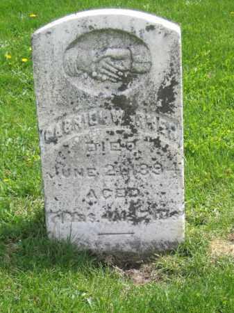 WERNER, GABRIEL - Stephenson County, Illinois | GABRIEL WERNER - Illinois Gravestone Photos