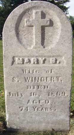 WINGERT, MARIE BARABARA - Stephenson County, Illinois | MARIE BARABARA WINGERT - Illinois Gravestone Photos