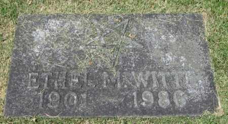 WITTE, ETHEL M. - Stephenson County, Illinois   ETHEL M. WITTE - Illinois Gravestone Photos