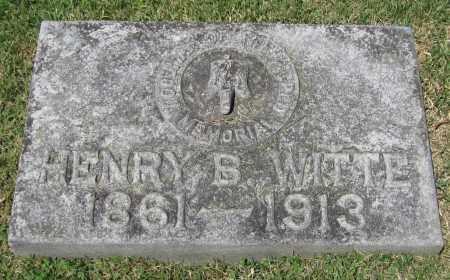 WITTE, HENRY B. - Stephenson County, Illinois | HENRY B. WITTE - Illinois Gravestone Photos