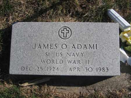 ADAMI, JAMES O - Tazewell County, Illinois | JAMES O ADAMI - Illinois Gravestone Photos