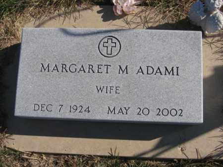 ADAMI, MARGARET M - Tazewell County, Illinois   MARGARET M ADAMI - Illinois Gravestone Photos