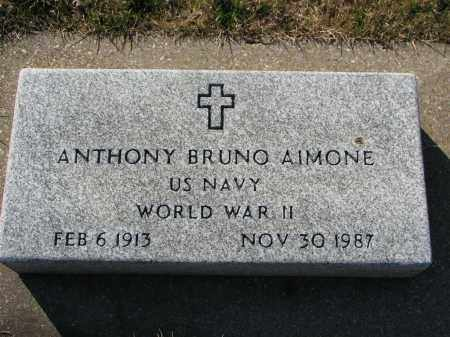 AIMORE, ANTHONY BRUNO - Tazewell County, Illinois | ANTHONY BRUNO AIMORE - Illinois Gravestone Photos