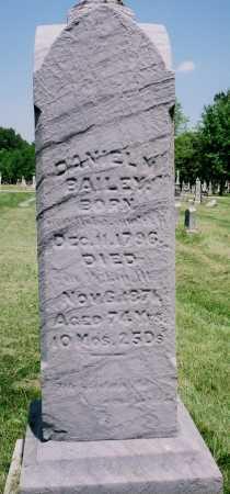 BAILEY, DANIEL M. - Tazewell County, Illinois | DANIEL M. BAILEY - Illinois Gravestone Photos
