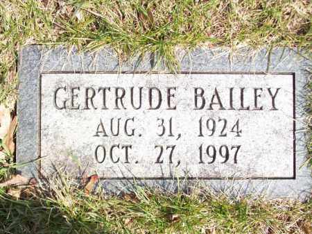 BAILEY, GERTRUDE - Tazewell County, Illinois | GERTRUDE BAILEY - Illinois Gravestone Photos