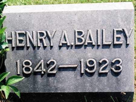 BAILEY, HENRY A. - Tazewell County, Illinois | HENRY A. BAILEY - Illinois Gravestone Photos