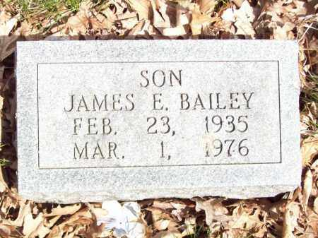 BAILEY, JAMES E - Tazewell County, Illinois | JAMES E BAILEY - Illinois Gravestone Photos