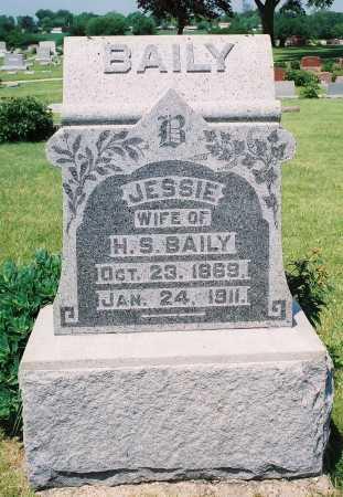 BAILEY BAILY, JESSIE N. - Tazewell County, Illinois | JESSIE N. BAILEY BAILY - Illinois Gravestone Photos