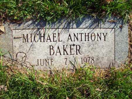 BAKER, MICHAEL ANTHONY - Tazewell County, Illinois | MICHAEL ANTHONY BAKER - Illinois Gravestone Photos