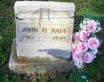 BALL, JOHN O - Tazewell County, Illinois | JOHN O BALL - Illinois Gravestone Photos
