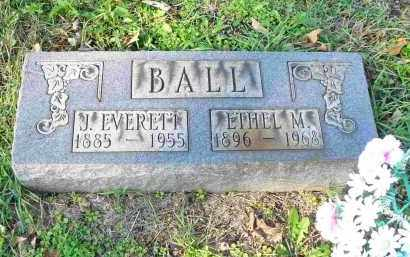 BALL, J. EVERETT - Tazewell County, Illinois | J. EVERETT BALL - Illinois Gravestone Photos
