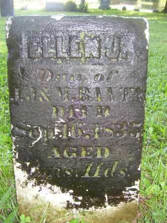 BANTA, ELLEN J - Tazewell County, Illinois | ELLEN J BANTA - Illinois Gravestone Photos
