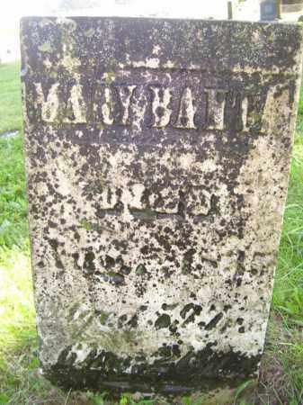BANTA, MARY - Tazewell County, Illinois   MARY BANTA - Illinois Gravestone Photos