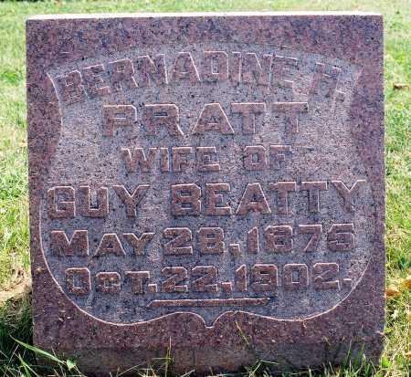 PRATT BEATTY, BERNADINE M. - Tazewell County, Illinois   BERNADINE M. PRATT BEATTY - Illinois Gravestone Photos