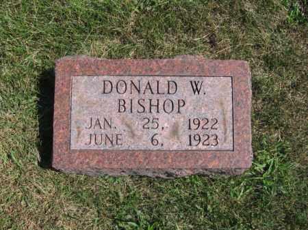 BISHOP, DONALD - Tazewell County, Illinois | DONALD BISHOP - Illinois Gravestone Photos
