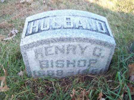 BISHOP, HENRY C - Tazewell County, Illinois | HENRY C BISHOP - Illinois Gravestone Photos