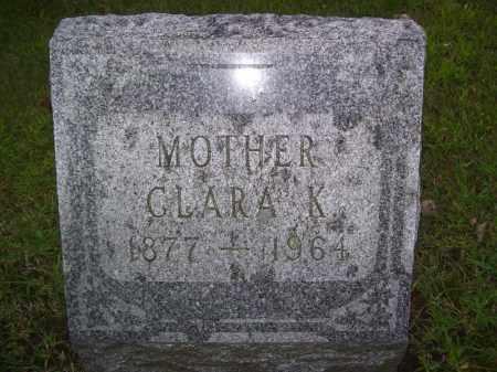 BLUMENSHINE, CLARA K - Tazewell County, Illinois | CLARA K BLUMENSHINE - Illinois Gravestone Photos