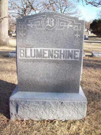 BLUMENSHINE, FAMILY MONUMENT - Tazewell County, Illinois | FAMILY MONUMENT BLUMENSHINE - Illinois Gravestone Photos