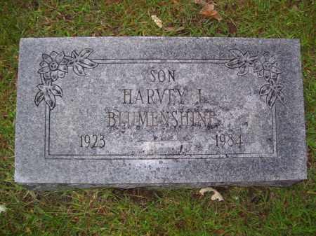 BLUMENSHINE, HARVEY L - Tazewell County, Illinois | HARVEY L BLUMENSHINE - Illinois Gravestone Photos