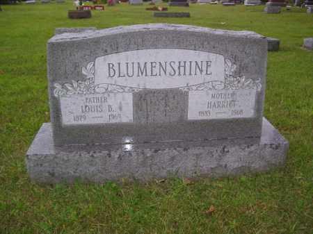 BLUMENSHINE, HARRIET - Tazewell County, Illinois | HARRIET BLUMENSHINE - Illinois Gravestone Photos