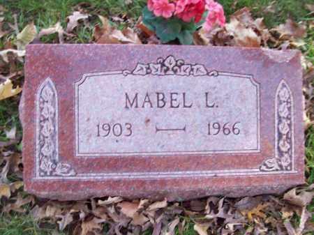 BLUMENSHINE, MABEL L - Tazewell County, Illinois | MABEL L BLUMENSHINE - Illinois Gravestone Photos