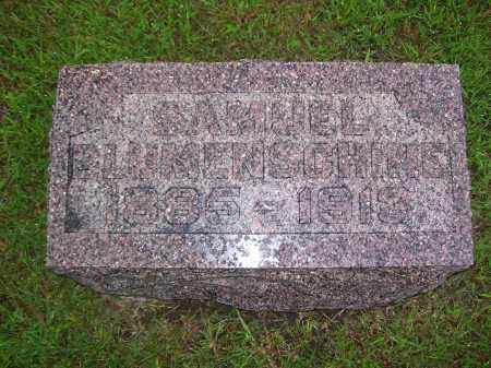 BLUMENSHINE, SAMUEL B - Tazewell County, Illinois | SAMUEL B BLUMENSHINE - Illinois Gravestone Photos